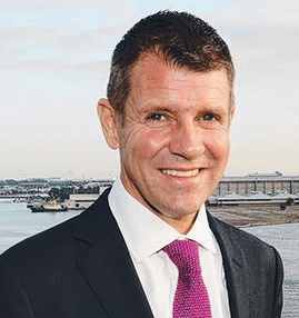 NSW Premier Mike Baird